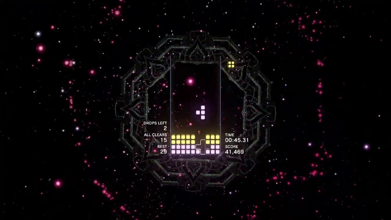 Tetris Effect All Clear Mode SS Rank