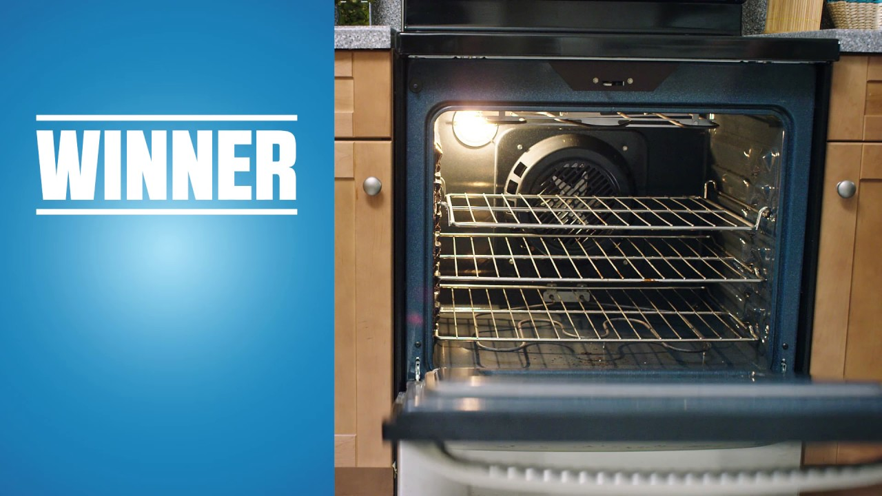 How to Clean the Oven - Flash Magic Eraser - YouTube