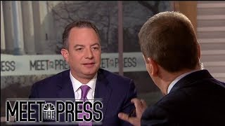 Reince: Never Felt Trump Was Going To Fire Robert Mueller (Full) | Meet The Press | NBC News