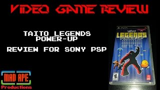 Taito Legends Power-Up Review for Sony PSP - Includes Rastan, Elevator Action, & More