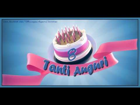 Auguri Buon Compleanno 8 Anni.8 Anni Buon Compleanno Tanti Auguri Tradizionale