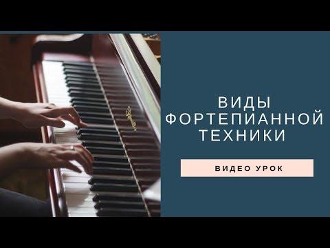 Виды фортепианной техники
