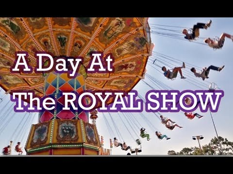 A Day At The Perth Royal Show