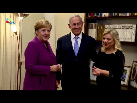 PM Netanyahu Hosts German Chancellor Merkel