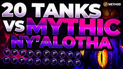 20 Tanks VS MYTHIC Ny'alotha