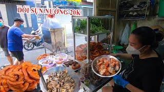 Phát hiện Quán Dồi Sụn nướng 20k Siêu ngon Sạch sẽ chất lượng 5* nằm trong hẻm Vườn Lài ở Sài Gòn