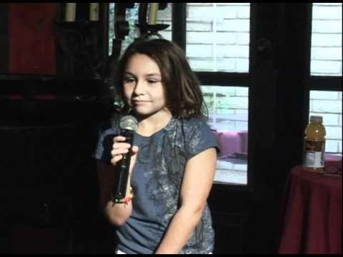 Individual Dream Believers School Performances 8-8-10 - Faith Kuzma