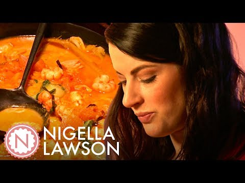 Nigella Lawson's Thai Yellow Pumpkin And Seafood Curry | Nigella Bites