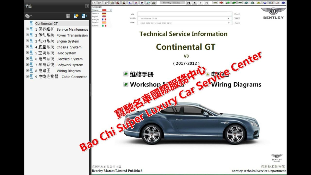 medium resolution of 2019 2003 continental gt gtc workshop repair manual wiring diagram owners manual