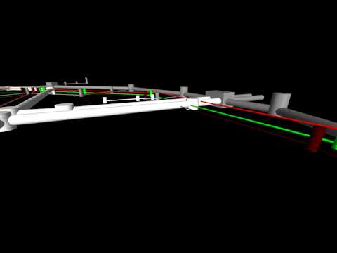 Underground Utilities 3D Model
