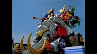 Power Rangers Ninja Storm - General Deception Part 2 - Megazord Fight 2   Episode 34