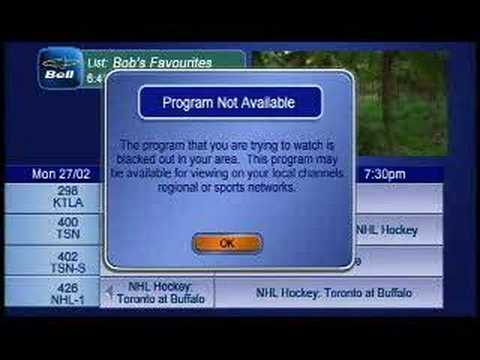 Bell tv montreal channel guide