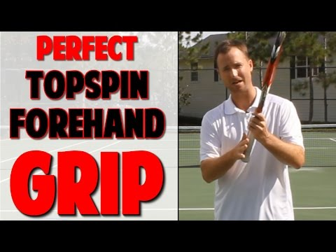 Tennis Topspin Forehand Grip | Video 1 (Top Speed Tennis)
