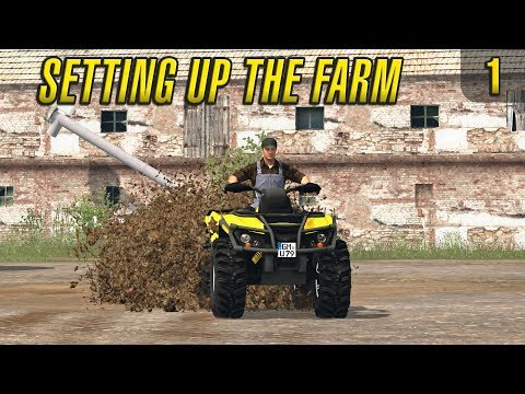 Setting up the Farm | PGR BRUZDA | Episode 1