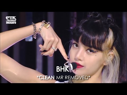 [CLEAN MR Removed] 201011 BLACKPINK (블랙핑크) PRETTY SAVAGE