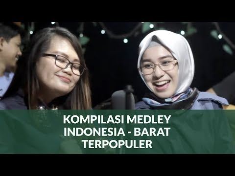 Medley Indonesia - Barat cover by Prisha Feat  Dilla