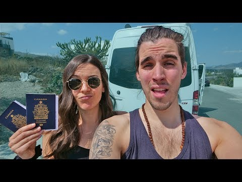 SNUCK INTO MEXICO   Hello Mexico Ep. 1 // a van life series