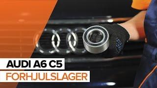 Hvordan bytte forhjulslager på AUDI A6 C5 [BRUKSANVISNING]