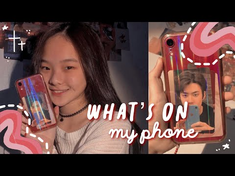 what's on my iphone xr 📱 + apps I use to edit aesthetic vids  ★彡 // nadine's journal