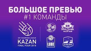 Превью #1 «Финал Четырех» : Команды  / Final Four big preview: Teams #CLF4Kazan