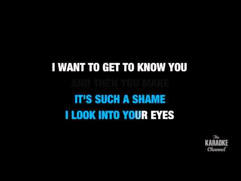 """Not Fair in the Style of """"Lily Allen"""" karaoke video with lyrics (no lead vocal)"""