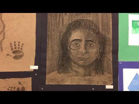 Catholic Art Show Viewing (Bishop Leibold)