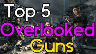 """Top 5"" Overlooked Guns in ""Call of Duty Zombies"" ""Black Ops 2 Zombies"" ""BO1 & WAW Zombies"""