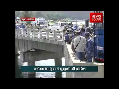 Kaveri Water Protest: Farmers attempt suicide