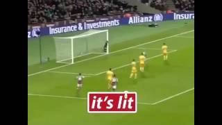 Andy Carroll amazing goal against crystal palace!!!!!