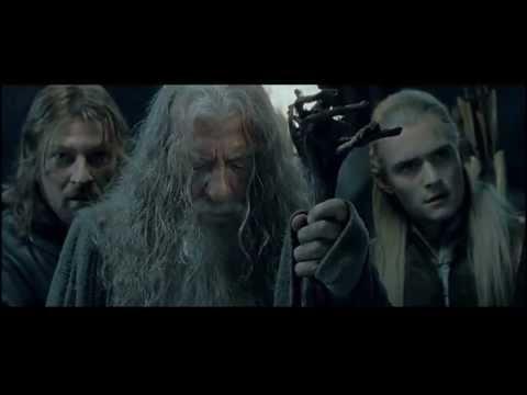 Lord of the RIngs - Gandalf vs Balrog (Crisp 480p)
