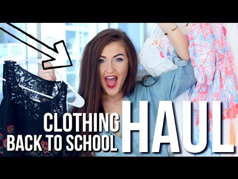 HUGE CLOTHING HAUL: College Back to School    Sarah Belle