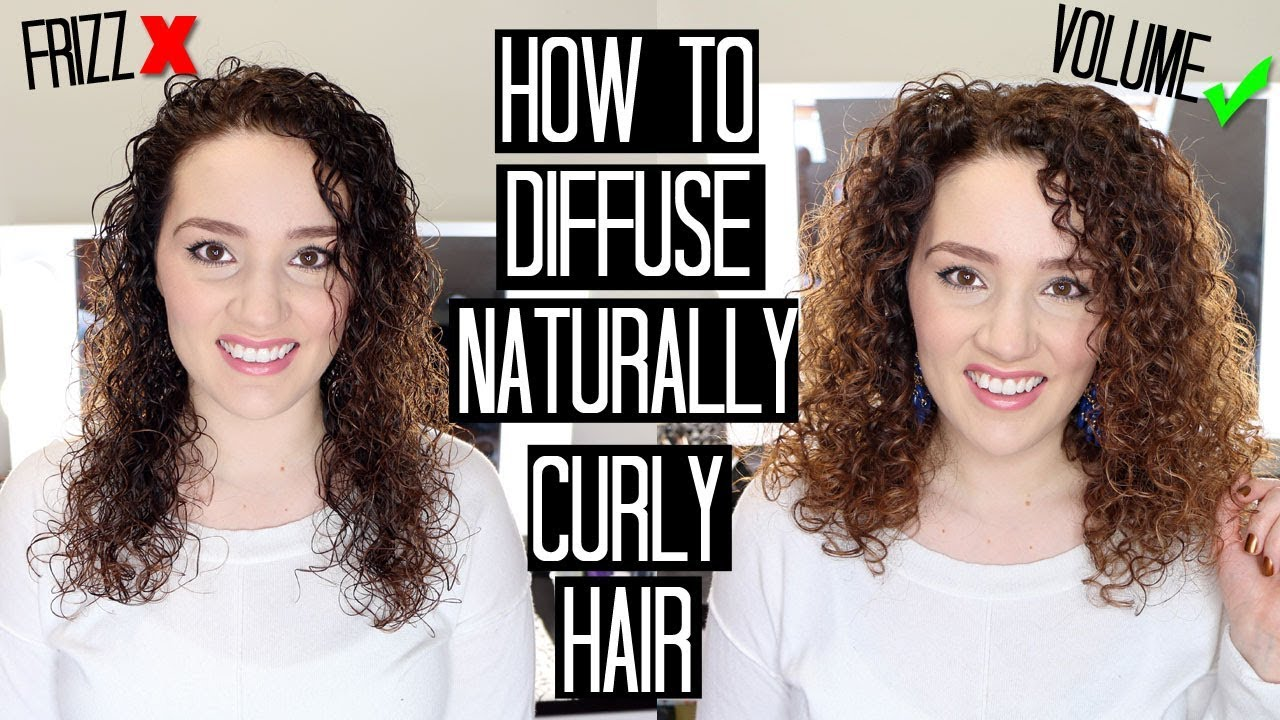 how to style wavy hair without frizz how to diffuse curly hair without frizz amp add volume 3822