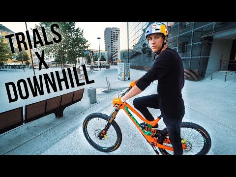 Trial on Downhill Bike |SickSeries#49