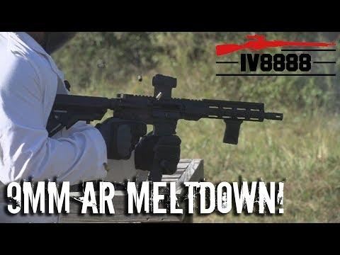 Faxon 9mm AR Meltdown!