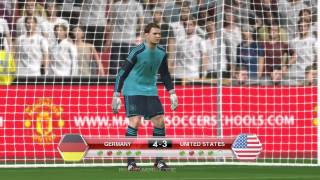 GERMANY vs UNITED STATES - PENALTY SHOOTOUT PES2014
