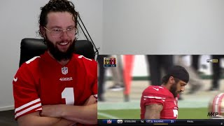 Rugby Player Reacts to COLIN KAEPERNICK (Kirpatrick?) & Recieves SF 49er's Jersey From Subscriber!