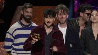 Vampire Weekend Wins Best Alternative Music Album | 2020 GRAMMYs Acceptance Speech