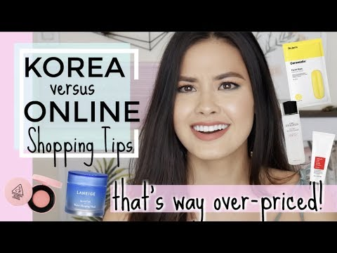 Are Products Actually Cheaper In Korea? In-Store Footage + Online Shopping Tips