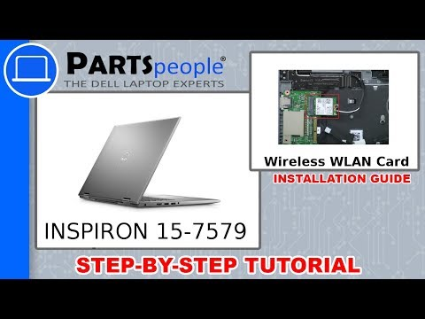 Dell Inspiron 15-7579 (P58F001) WLAN Card How-To Video