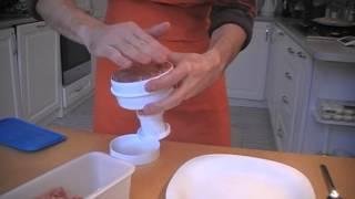 Kitchen Craft Hamburger prés tökéletes hamburger húspogácsához