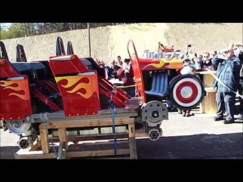 Dollywood Lightning Rod Train Reveal & Construction Update