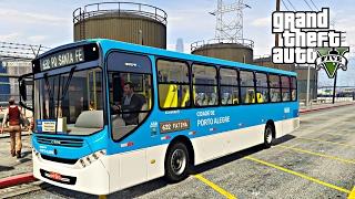 Video GTA V: BusVlog - Ônibus de Porto Alegre Linha 632 - Fátima / Zona Norte #10 download MP3, 3GP, MP4, WEBM, AVI, FLV November 2018