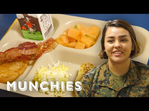Cooking Breakfast For 1,500 On A US Navy Ship