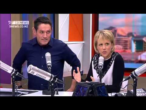 Hilary Barry got a bit sexy on the weather this morning...