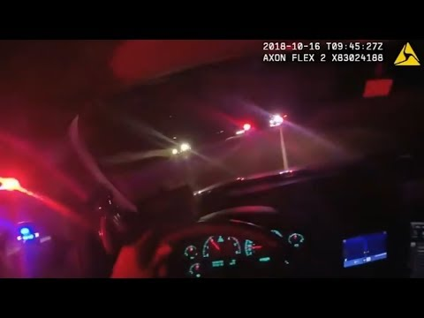 Muskogee Police Chase