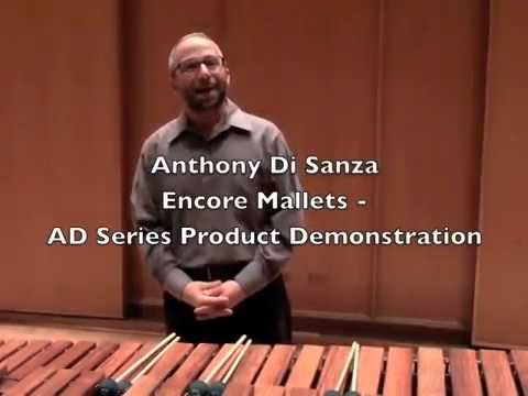 Encore Mallets: Anthony Di Sanza Series Product Demonstration