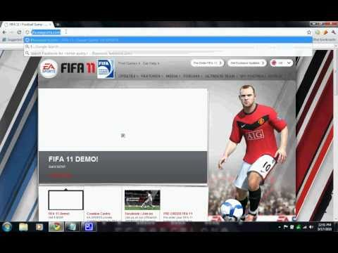 How To Download FIFA 11 DEMO(Tutorial)