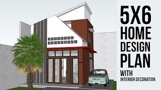 Small House Design Plans 5x6 With 2 Bedrooms