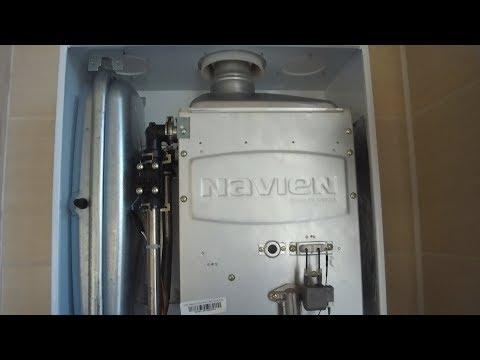 Установка газового котла navien deluxe своими руками