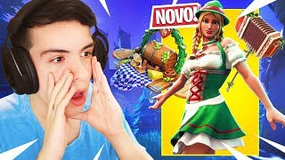 MITEI TOO MUCH WITH the NEW SKIN OF GREEN RIDING Hood (HEIDI) L FORTNITE